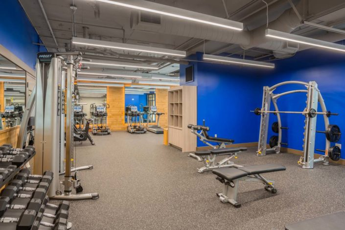 At Chelsea Apartments, all residents enjoy a state-of-the-art, 24-hour fitness center